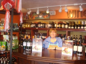 Sue Moneypenny manages the gourmet deli