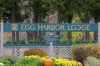 Egg Harbor Lodge sign