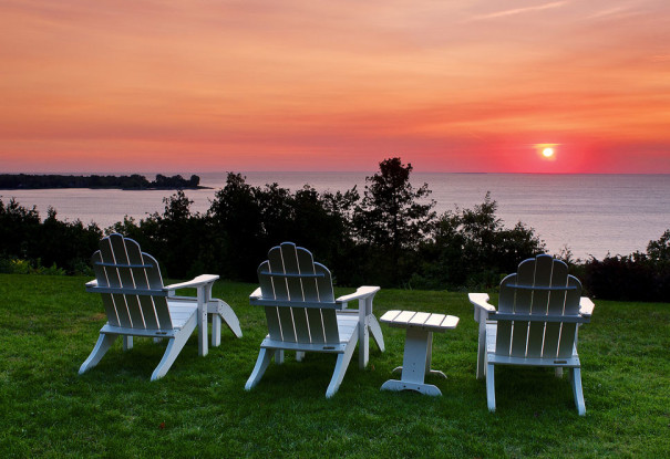 Egg Harbor Lodge Door County Resort with Great Sunsets